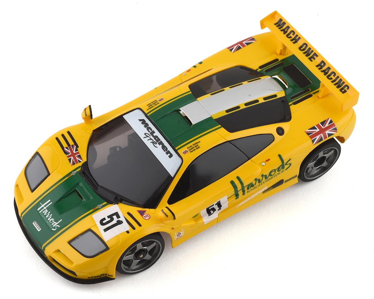 Kyosho MR-03 Mini-Z RWD ReadySet w/McLaren F1 GTR Body (Yellow/Green)