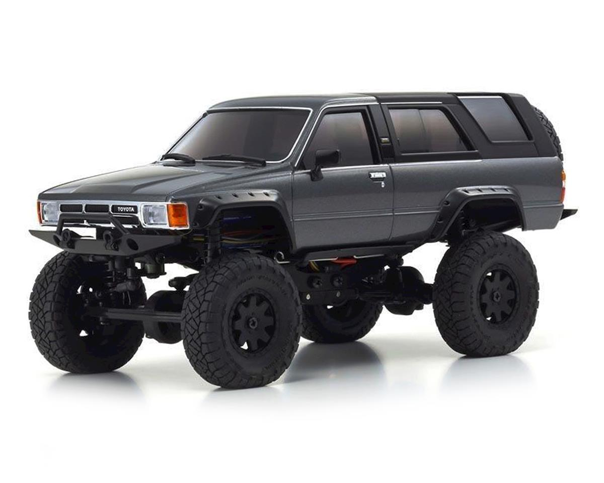 Kyosho MX-01 Mini-Z 4X4 Readyset w/4-Runner Body (Grey) | relatedproducts