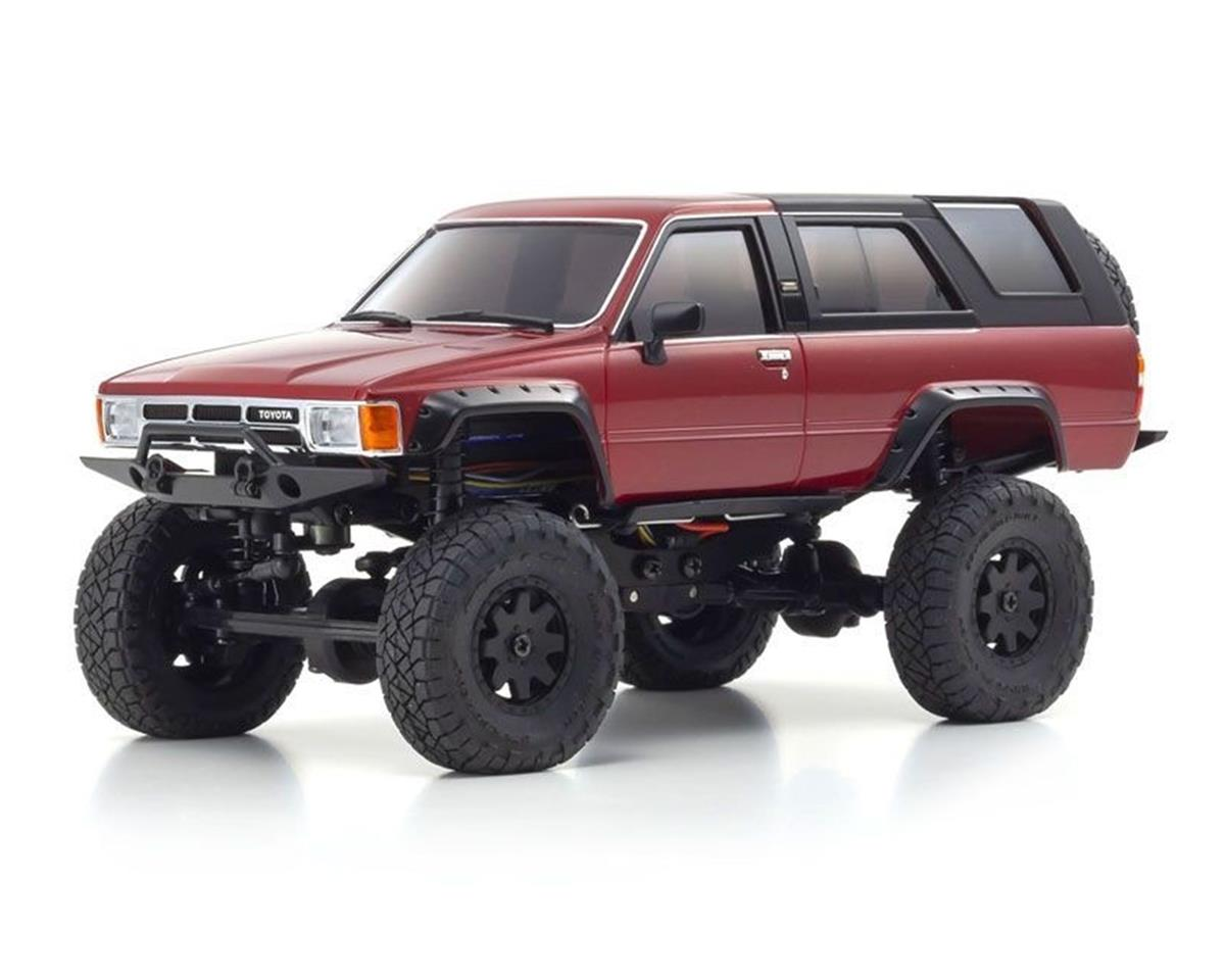 Kyosho MX-01 Mini-Z 4X4 Readyset w/4-Runner Body (Red)