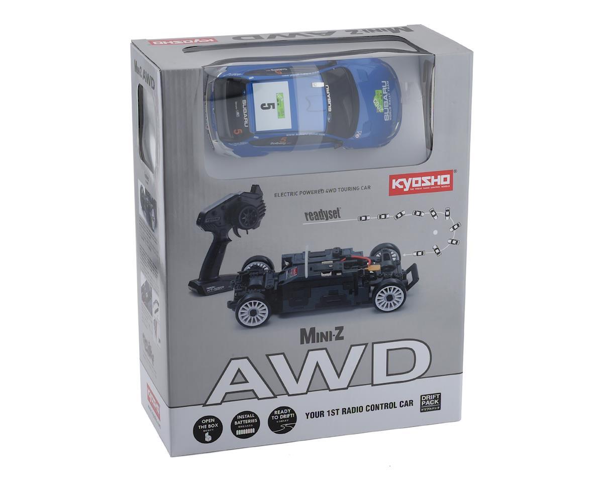 Kyosho MA-020 AWD Mini-Z Sports ReadySet w/Subaru 2008 WRC Impreza Body