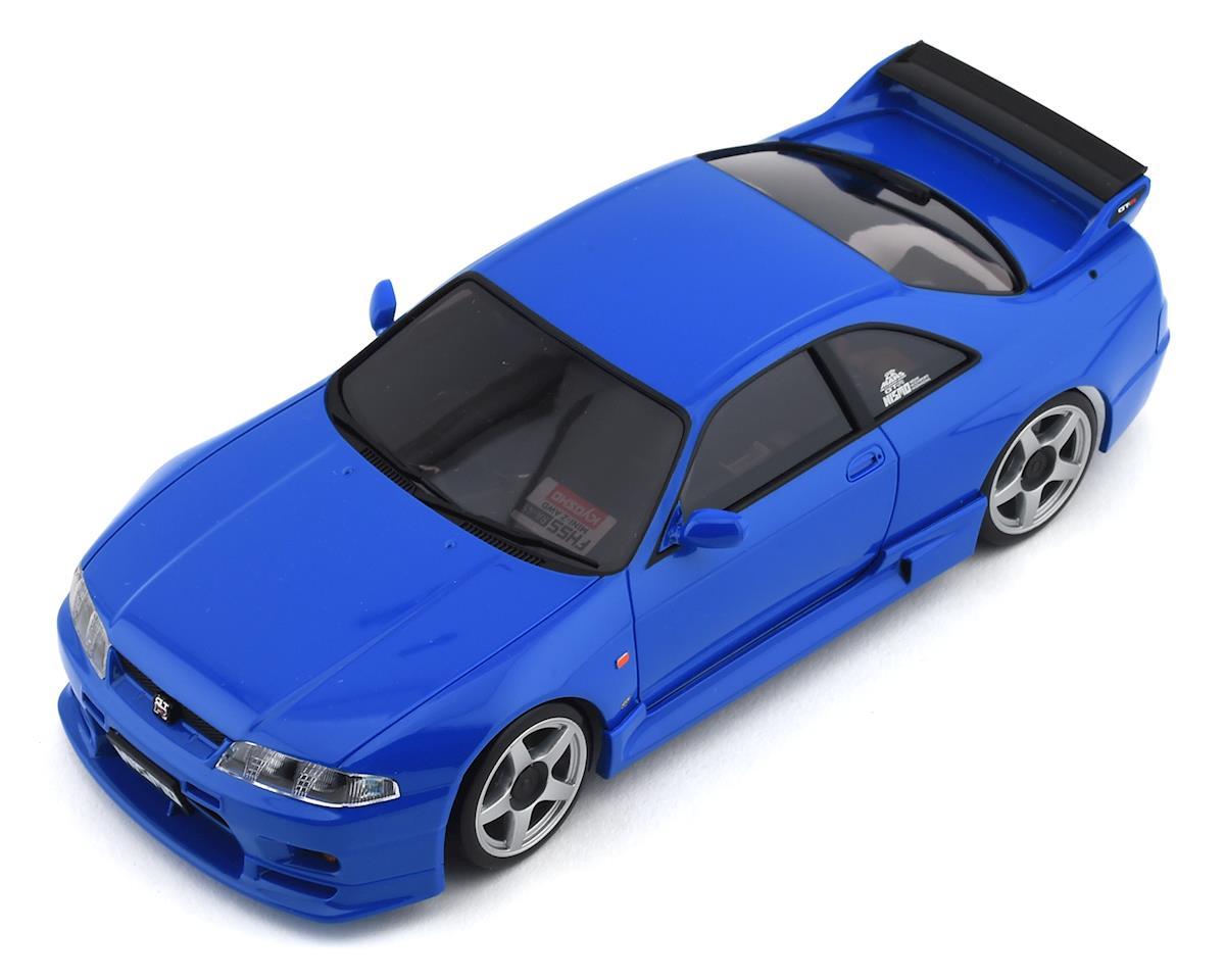 Kyosho MA-020 AWD Mini-Z ReadySet w/Nissan Skyline GT-R NISMO R33 Body (Blue)