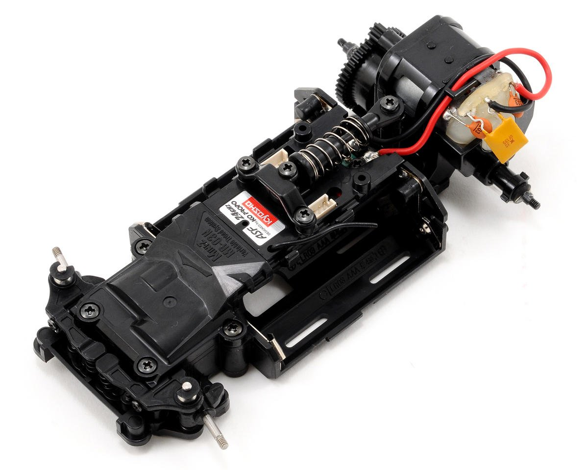 Kyosho MR-03N-HM ARR Mini-Z Chassis Set w/Mini Cooper S JCW GP Body (Grey)