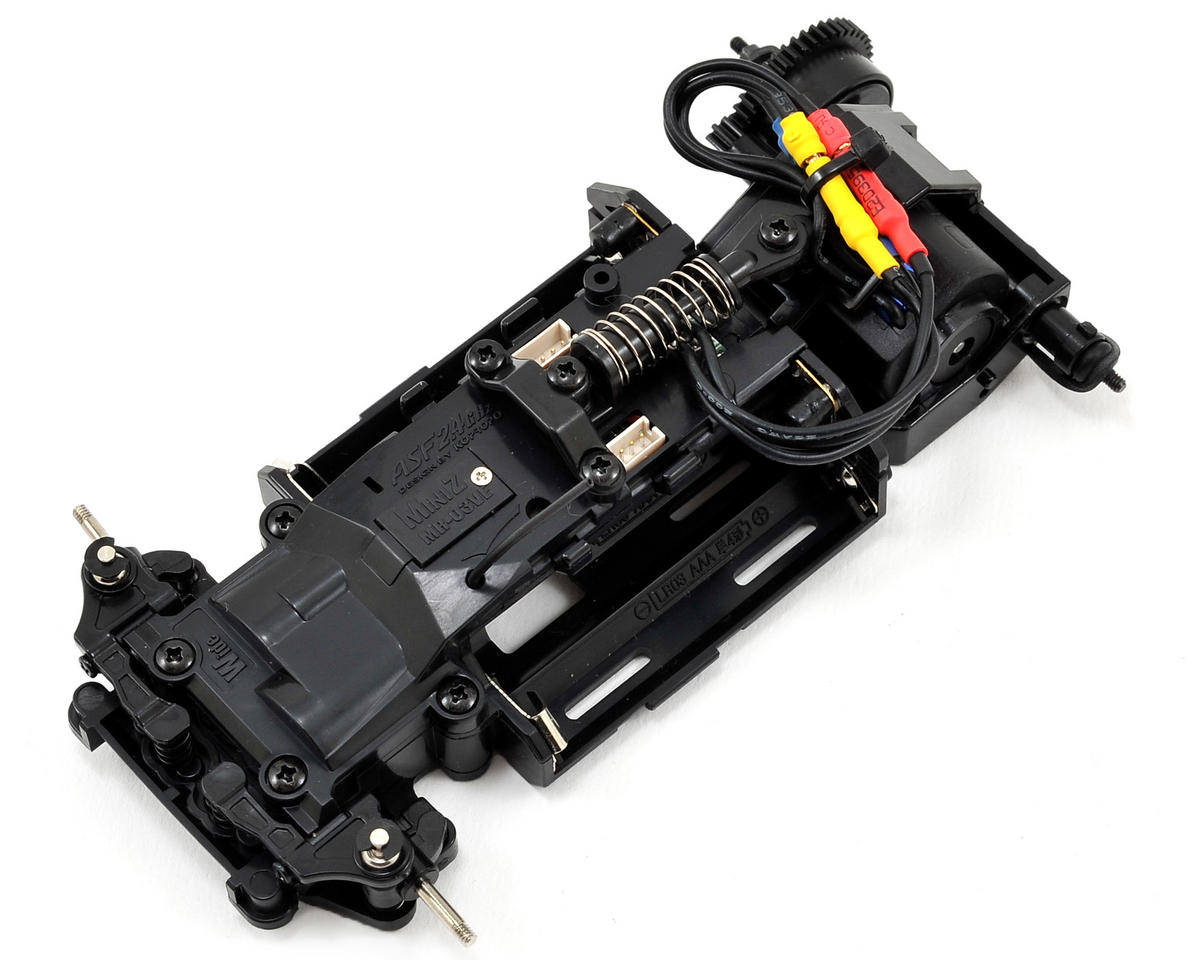 Kyosho MR-03VE ARR Mini-Z Racer Chassis Set w/Petronas Toms SC430 Body