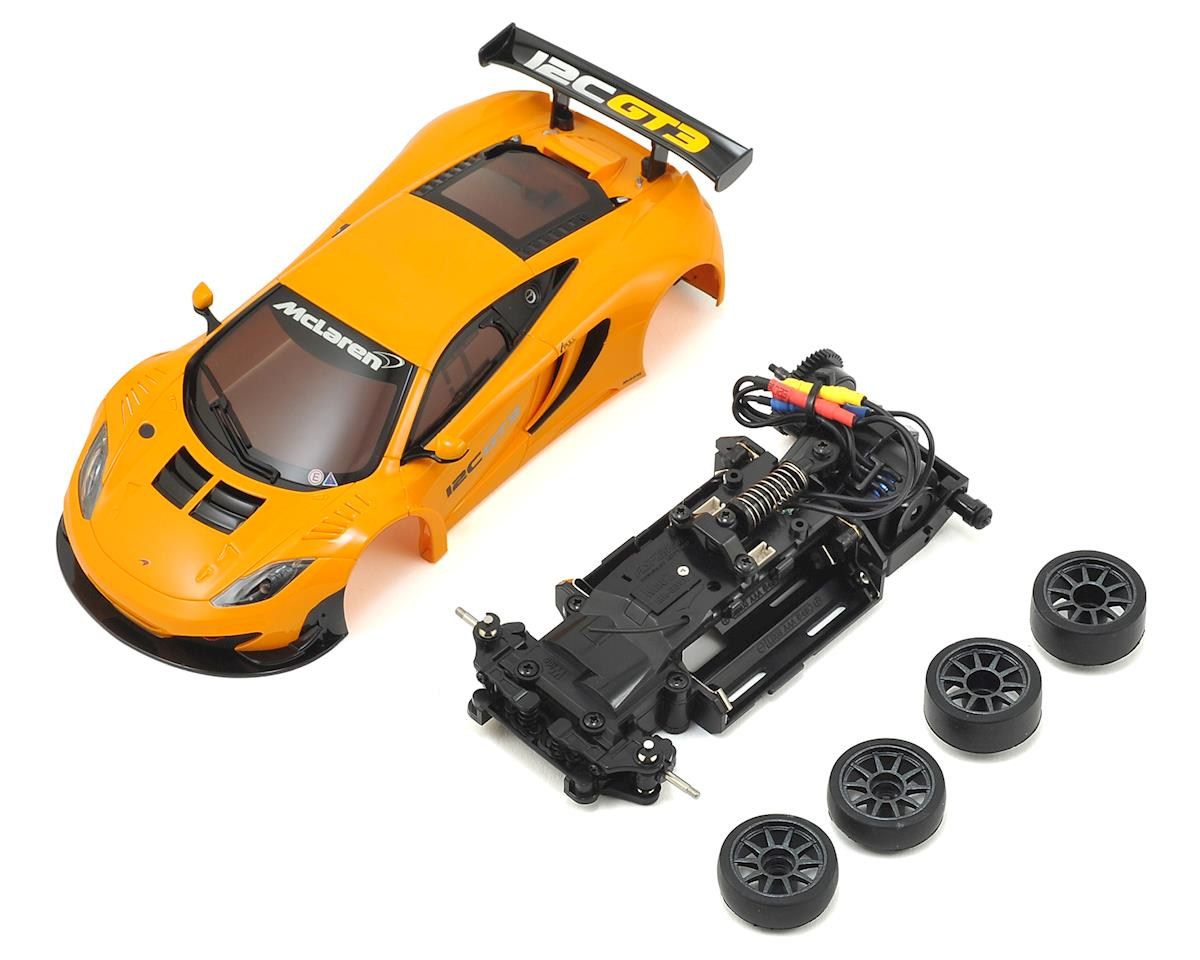 Kyosho MR-03VE Mini-Z Racer Chassis Kit w/BCS McLaren 12C GT3 2013 Body
