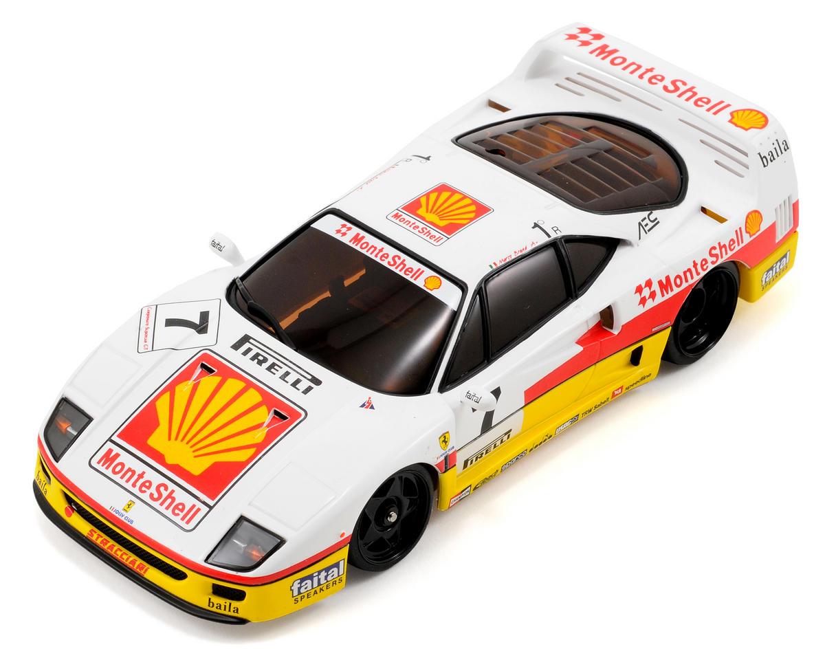 Kyosho MR-03W-RM ARR Mini-Z Chassis Set w/Ferrari F40 Competizione 1993 Monte Sh