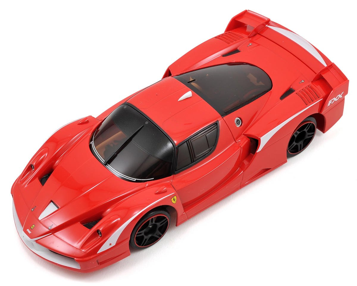 Kyosho MR-03W-MM ARR Mini-Z Chassis Set w/Ferrari FXX Evoluzione Body (Red)