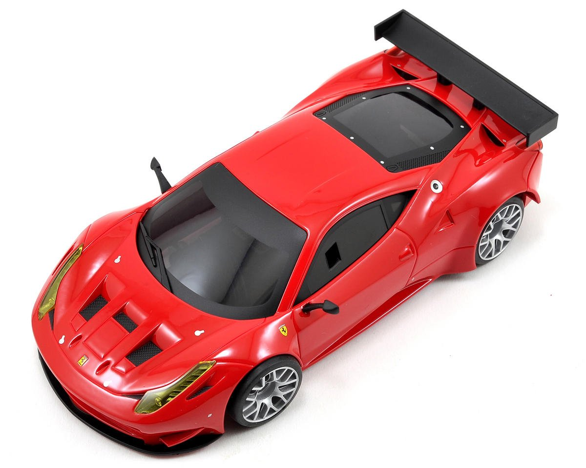 Kyosho MR-03W-MM ARR Mini-Z Chassis Set w/Ferrari 458 GT2 Body (Red)
