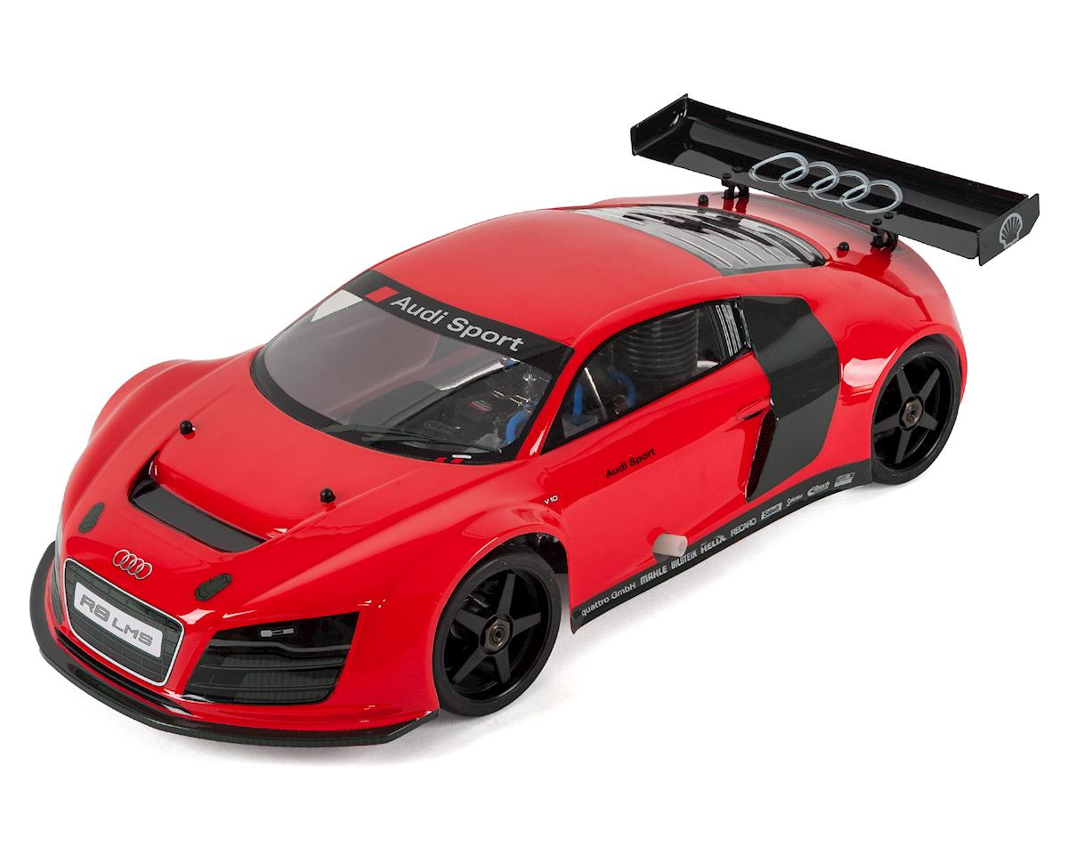 SCRATCH & DENT: Kyosho Inferno GT2 Race Spec Audi R8 LMS ReadySet 1/8 Scale Nitro On-Road Kit