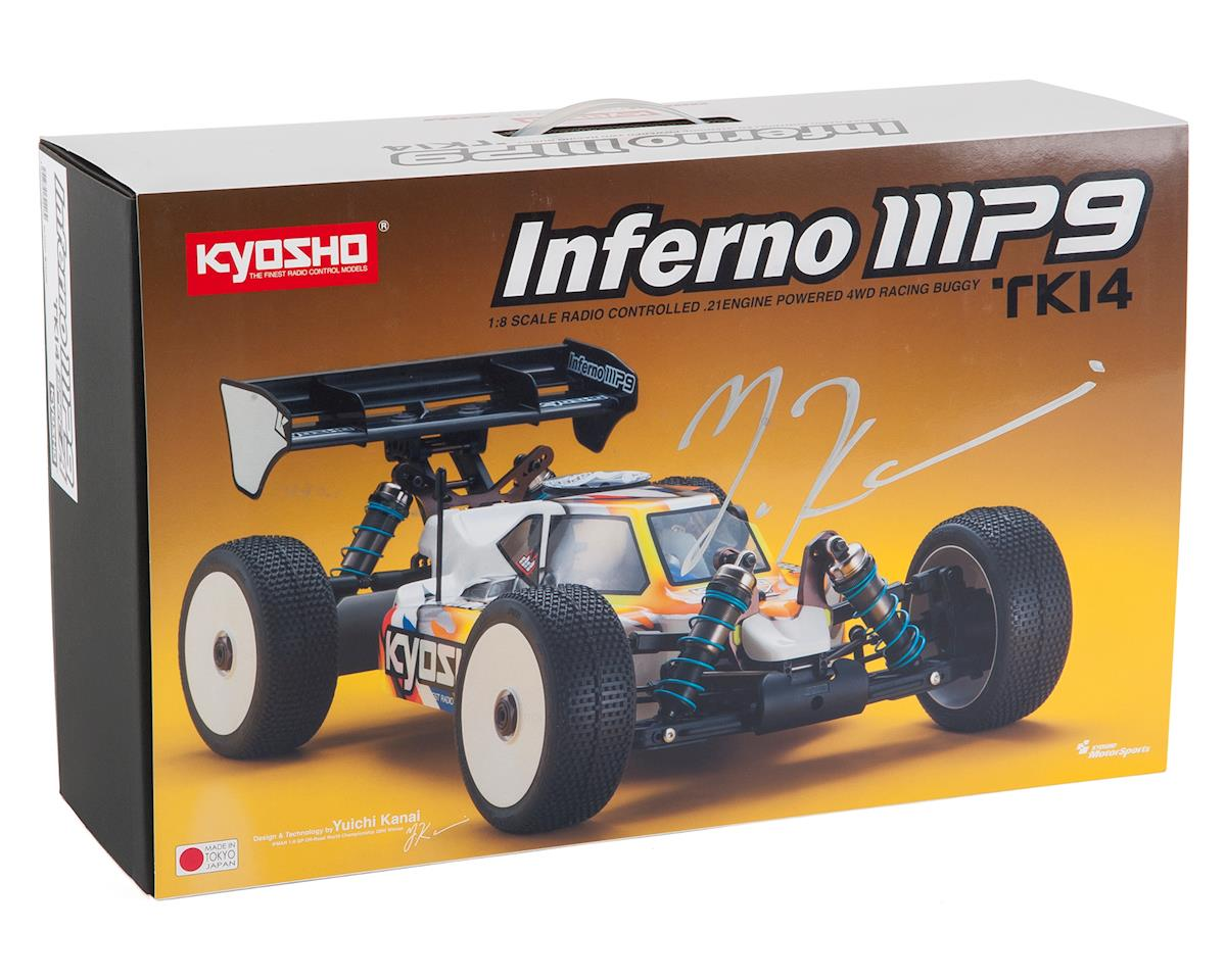 "Kyosho Inferno MP9 TKI4 ""Spec A"" Pre-Built 1/8 Nitro Buggy Kit"