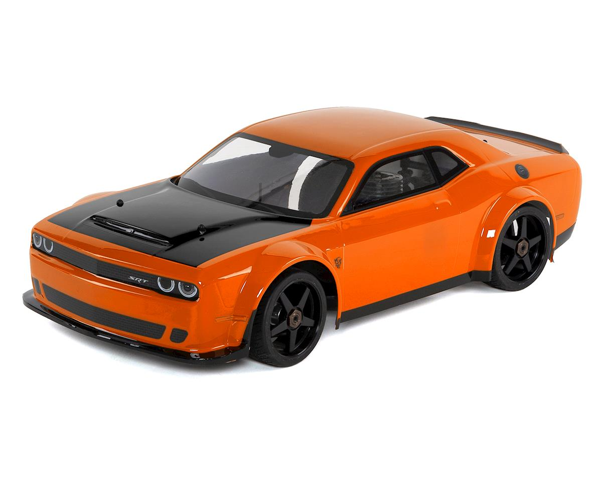 Kyosho Inferno GT2 Race Spec Dodge Challenger SRT Demon 2018 (Go Mango)