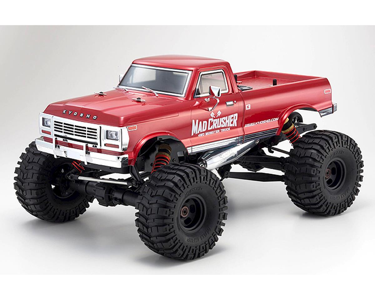 kyosho mad crusher gp readyset 1 8 monster truck. Black Bedroom Furniture Sets. Home Design Ideas