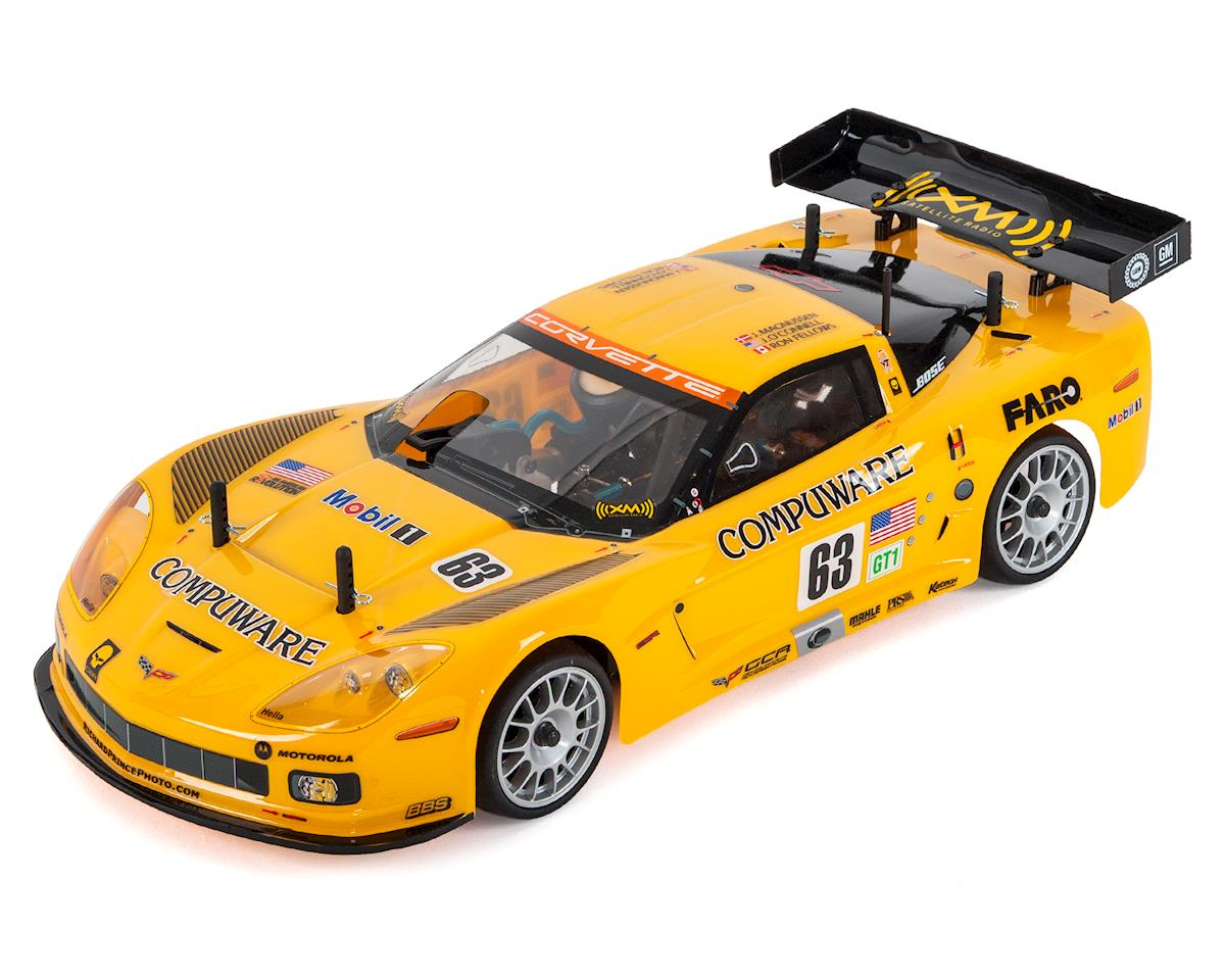 FW06 Corvette C6-R ReadySet 1/10 Nitro Touring Car by Kyosho