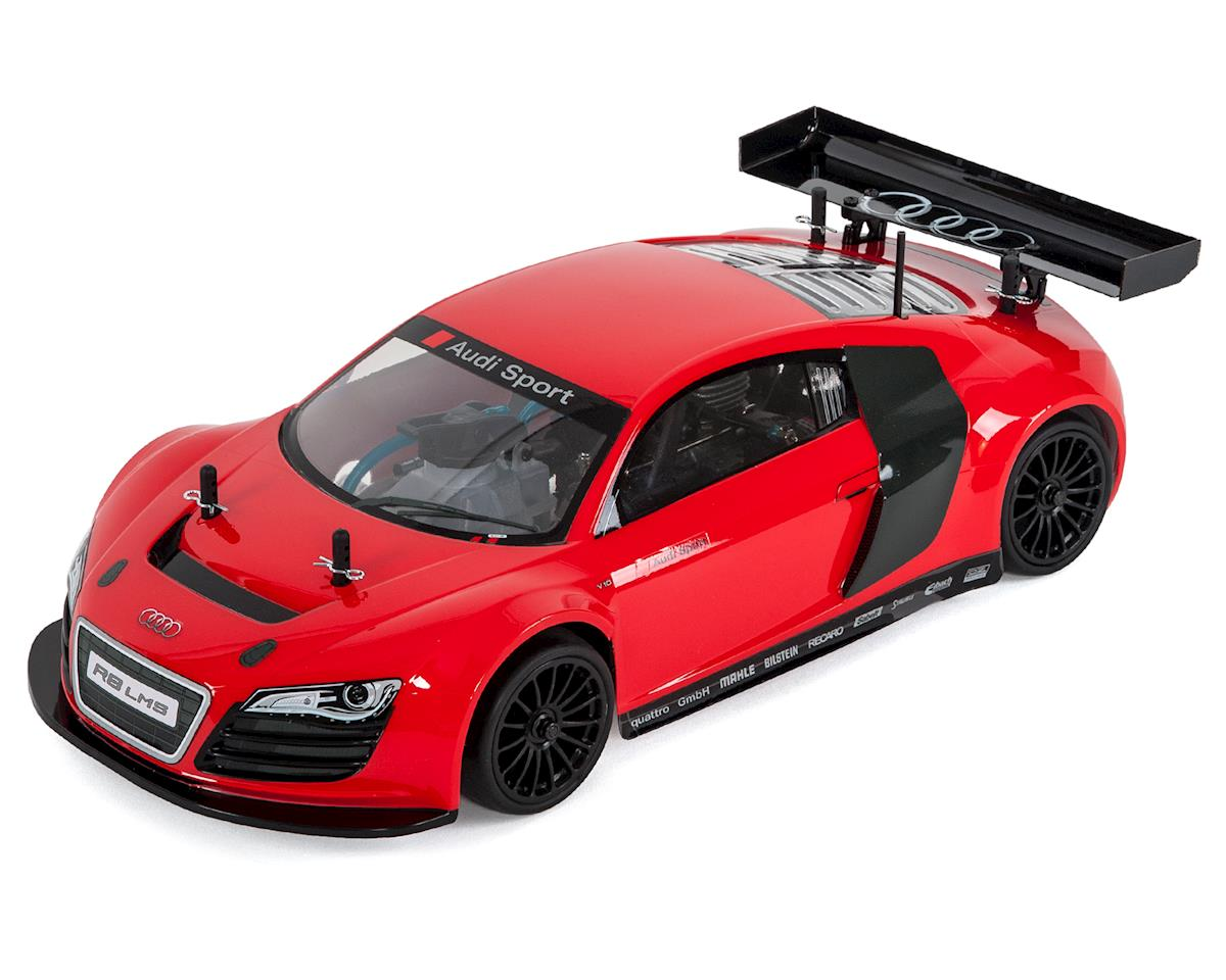 FW06 Audi R8 LMS PureTen ReadySet 1/10 Nitro Touring Car (Red)