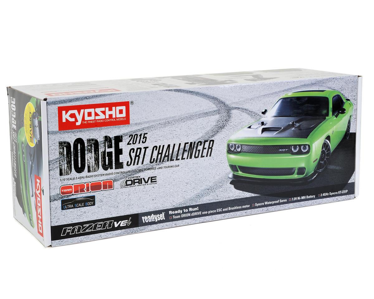 Kyosho 2015 Dodge Challenger SRT Hellcat Fazer VEi ReadySet