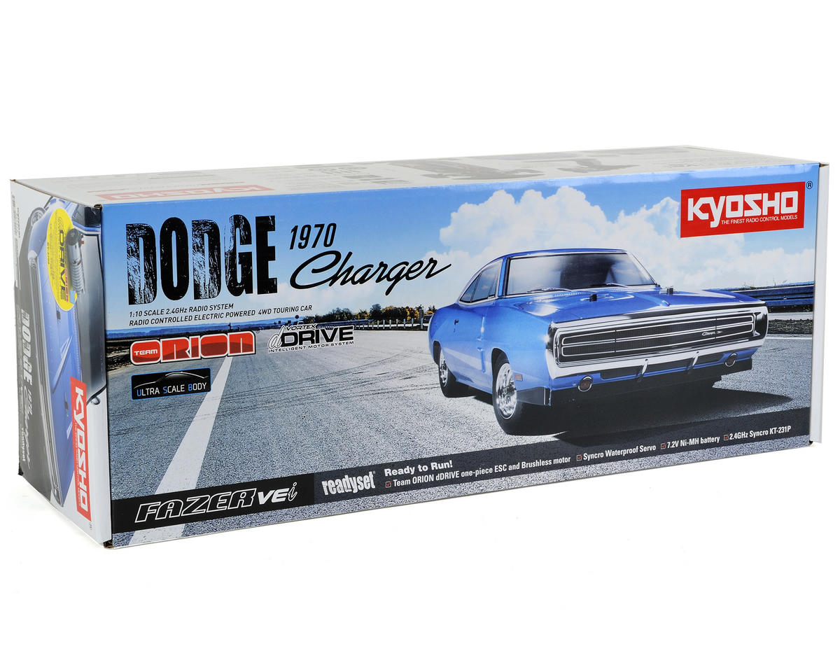 Kyosho 1970 Dodge Charger Fazer VEi ReadySet