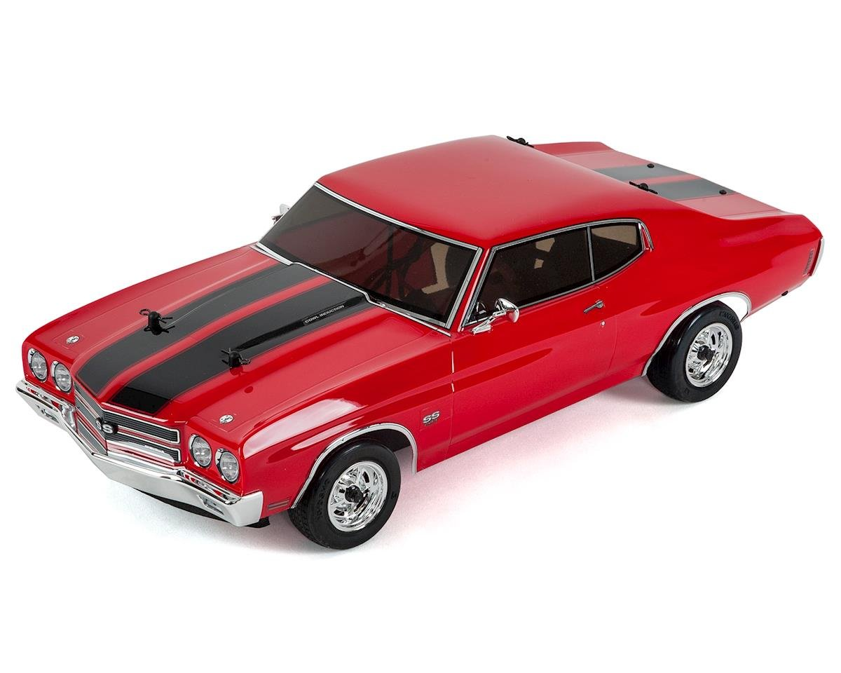 1970 Chevelle SS 454 LS6 Fazer VEi ReadySet w/dDrive (Cranberry Red) by Kyosho