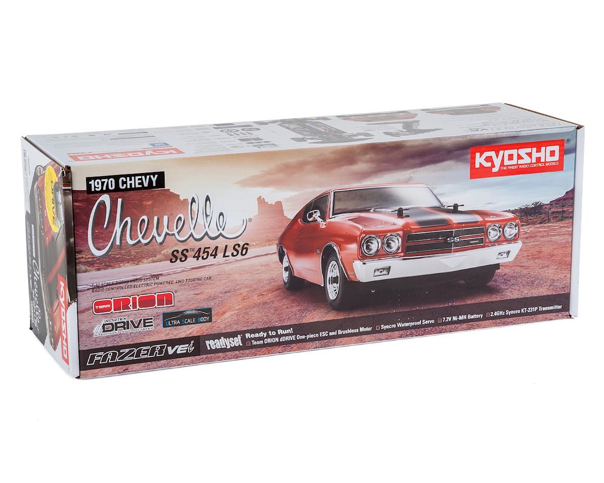 Kyosho 1970 Chevelle SS 454 LS6 Fazer VEi ReadySet w/dDrive (Fathom Blue)