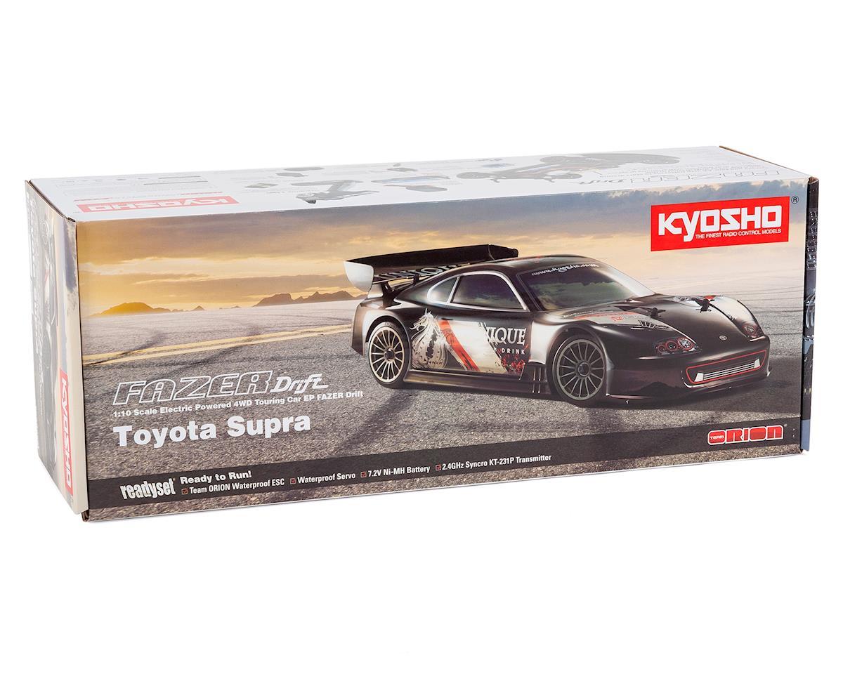 Kyosho EP Fazer Toyota Supra Type1 RS Drift ReadySet 1/10 Electric Touring Car
