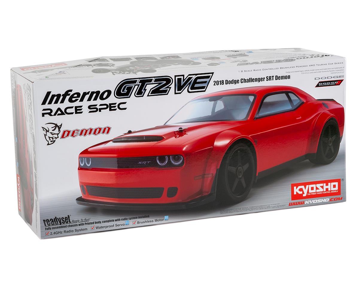 Kyosho Inferno GT2 VE Dodge Challenger SRT Demon 2018 1/8 Electric