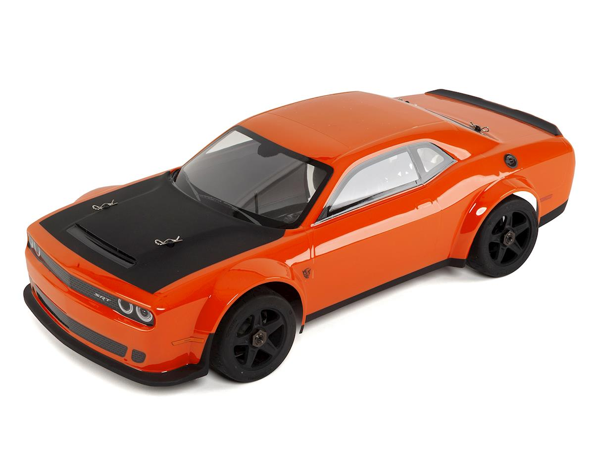 Kyosho Inferno GT2 VE Race Spec Dodge Challenger SRT Demon 2018 (Go Mango)