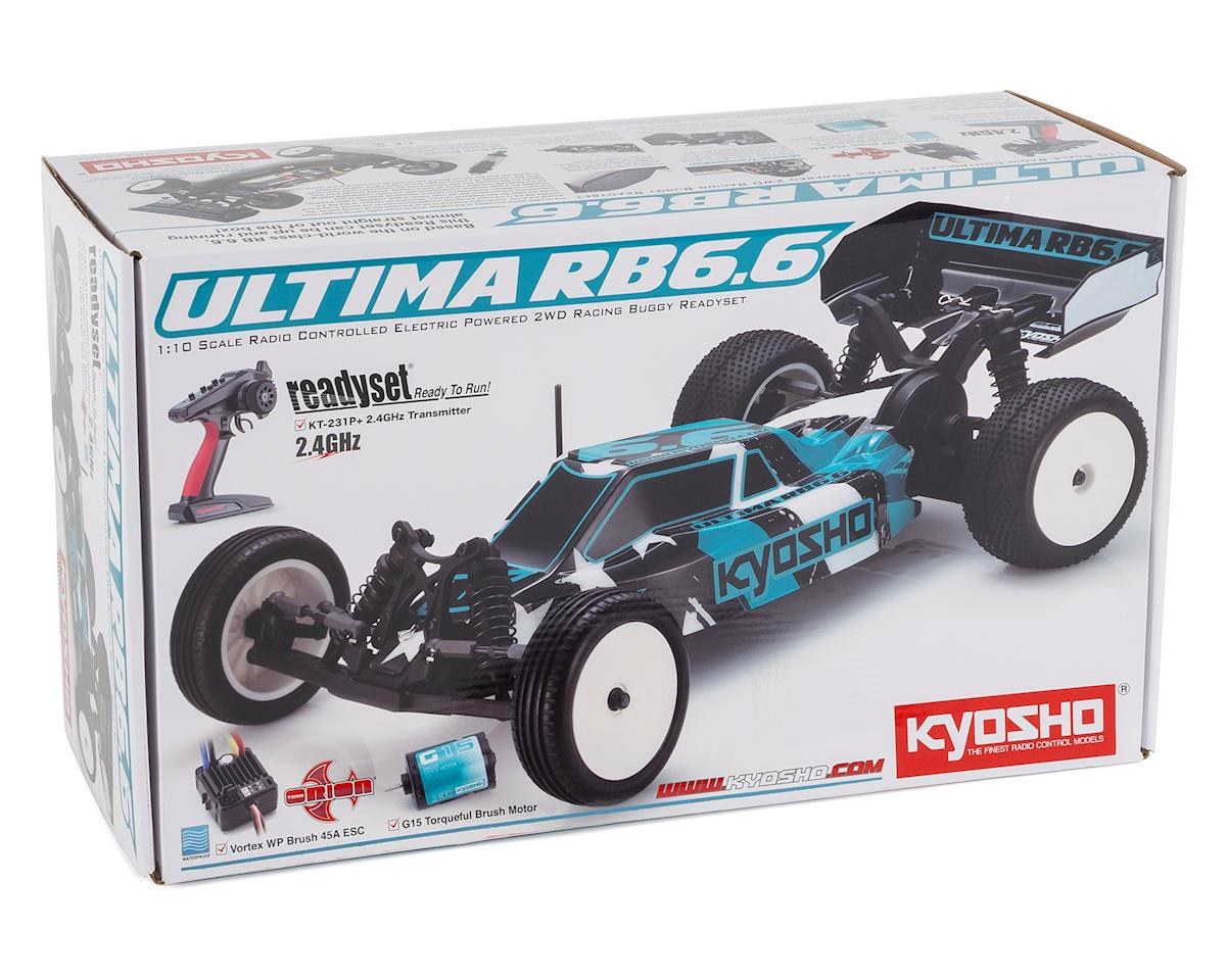 Kyosho Ultima RB6.6 ReadySet 1/10 2WD Electric Buggy