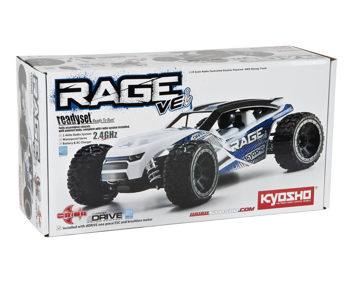 Kyosho Rage VEi ReadySet 4wd Truck