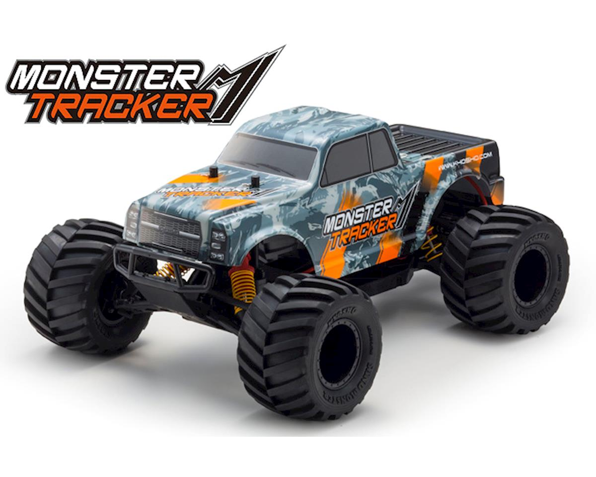 Image 2 for Kyosho Monster Tracker T2 ReadySet 1/10 RTR 2WD Monster Truck (Gray/Orange)
