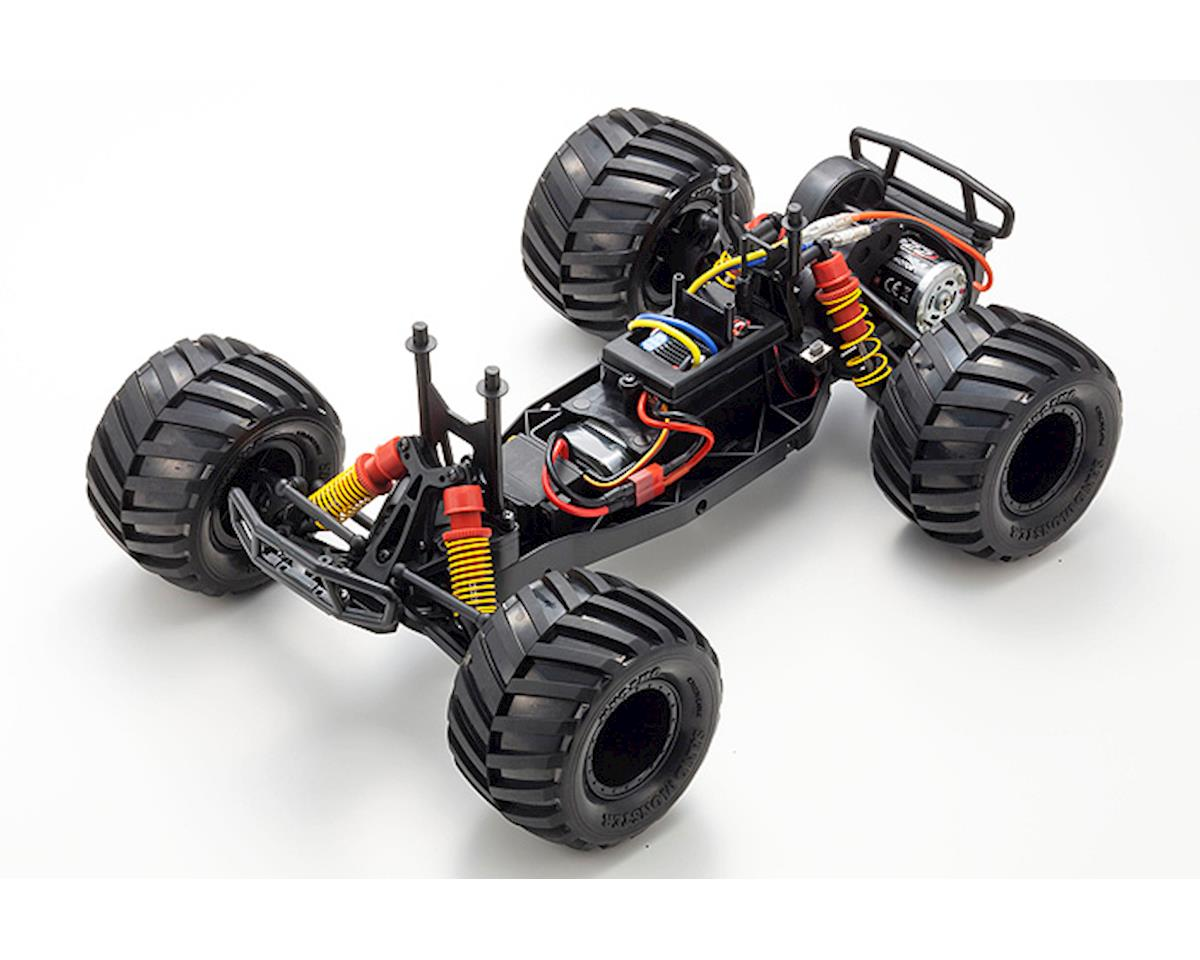 Image 4 for Kyosho Monster Tracker T2 ReadySet 1/10 RTR 2WD Monster Truck (Gray/Orange)