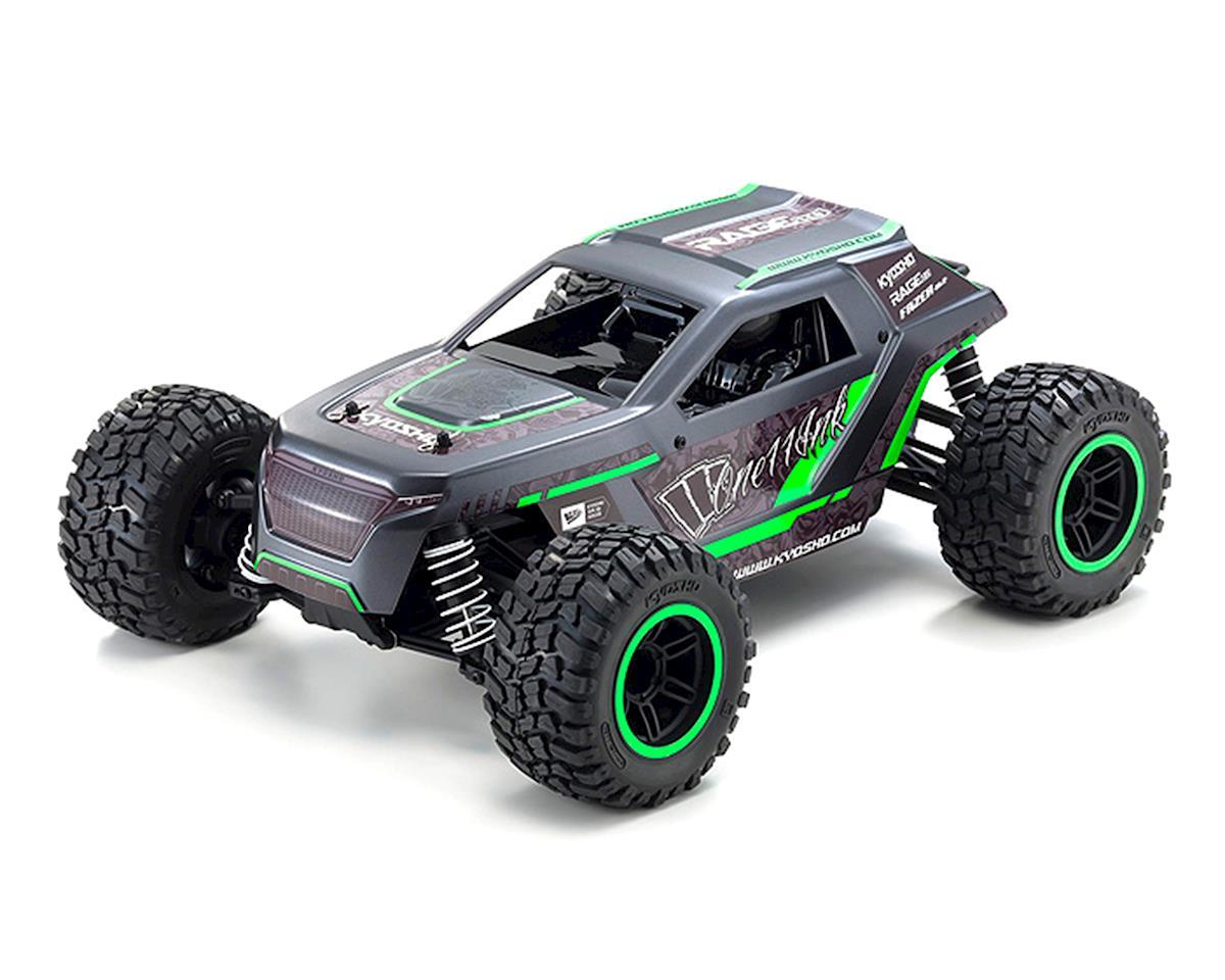 Kyosho Fazer Mk2 Rage 2.0 1/10 4WD Readyset Truck (Green) w/2.4GHz Radio