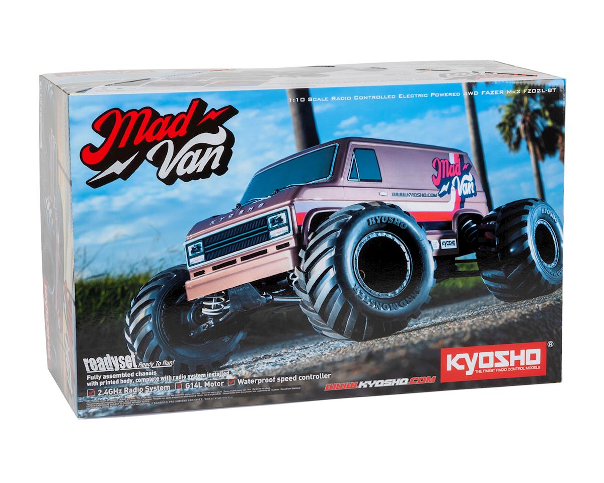 Image 7 for Kyosho Fazer Mk2 Mad Van 1/10 4WD Readyset Monster Truck