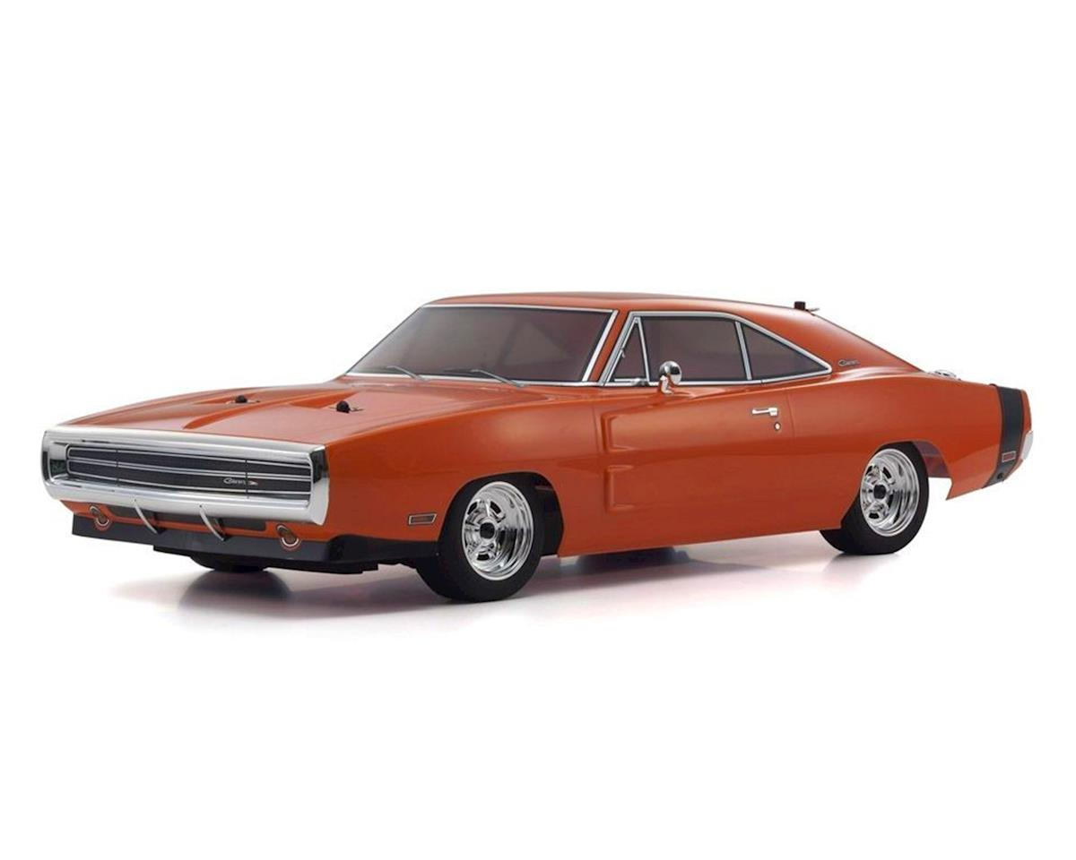 Kyosho EP Fazer Mk2 FZ02L 1970 Dodge Charger ReadySet (Hemi Orange)