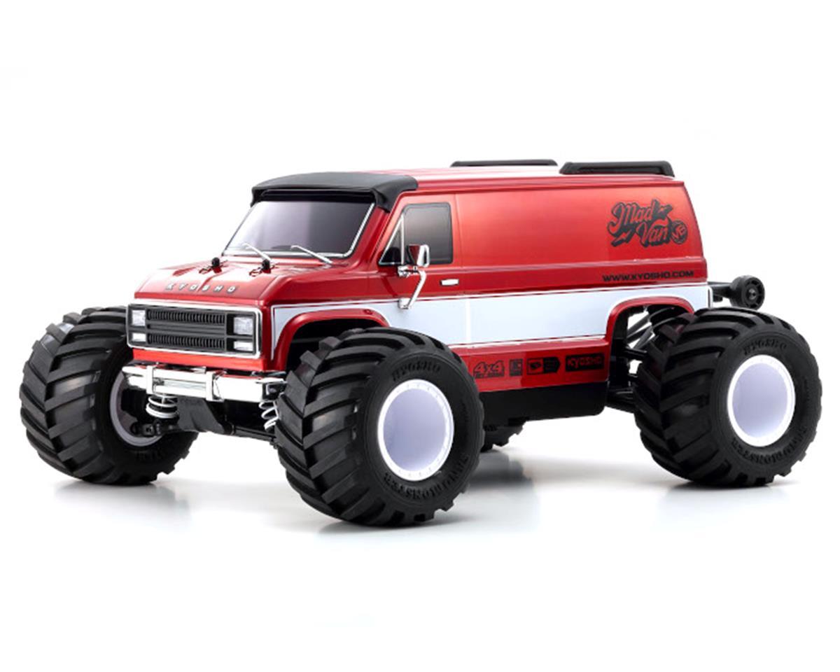 Kyosho Fazer Mk2 Mad Van VE 4WD Readyset Monster Truck with 2.4GHz Radio KYO34491T1
