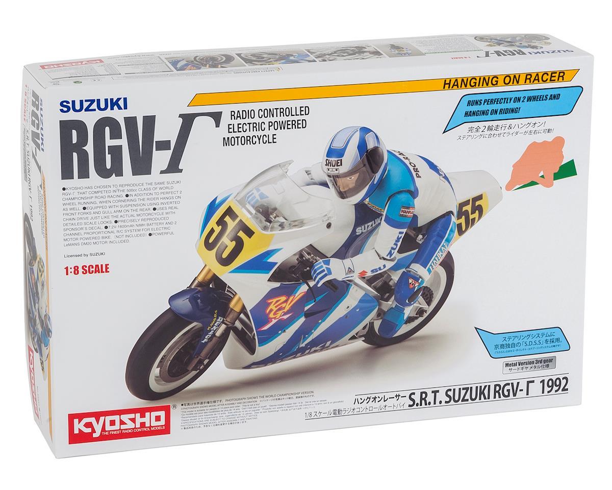 Kyosho Hang On Racer Suzuki S.R.T. RGV1992 Electric 1/8 Motorcycle Kit