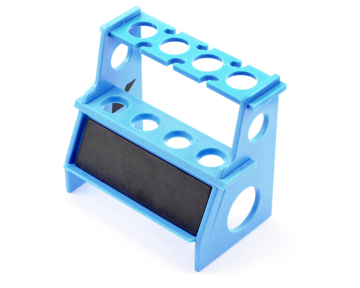 Kyosho Shock Absorber Holder w/Magnetic Strip (Blue)
