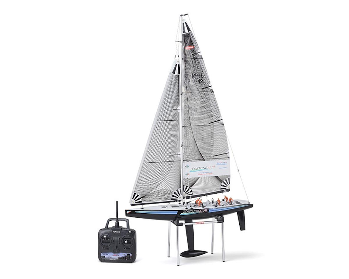 Fortune 612 III ReadySet Sail Boat by Kyosho
