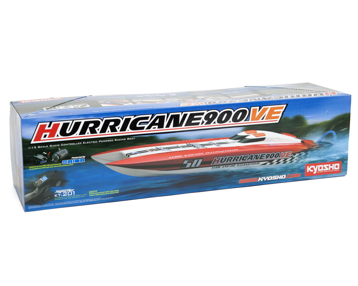 Kyosho Hurricane 900VE ReadySet Brushless Catamaran