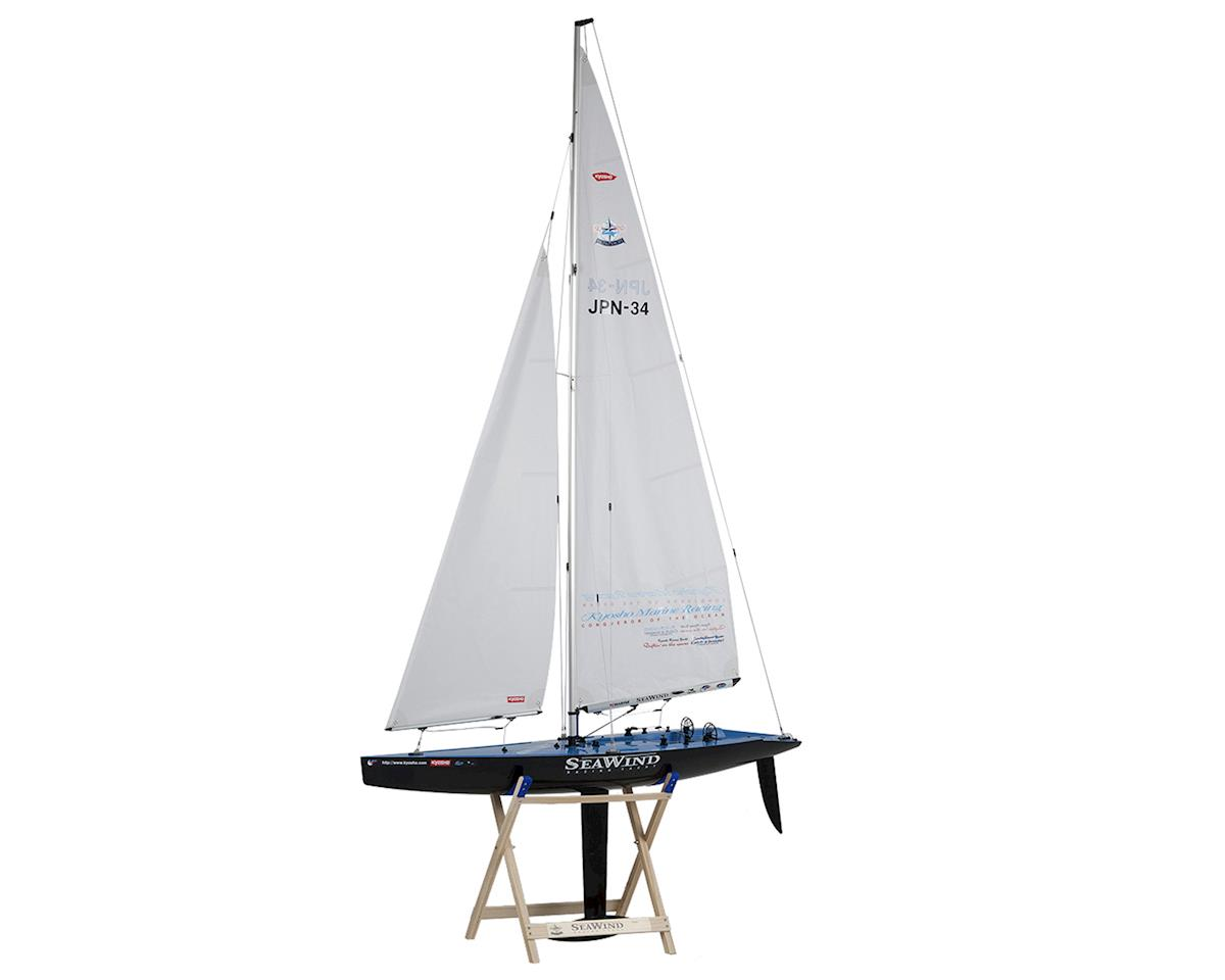 "Kyosho Seawind ""Carbon Edition"" ReadySet Racing Yacht"