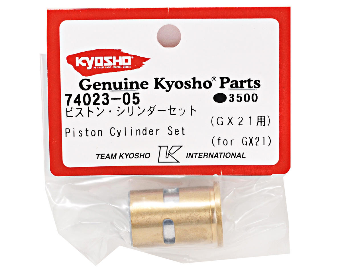 Kyosho Piston & Sleeve (GX21)