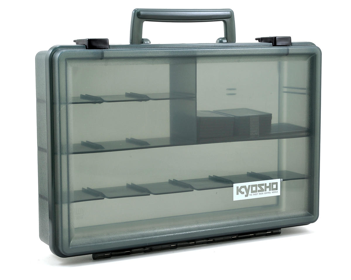 Kyosho V-One RRR Large Tool Box (330x230x65mm)