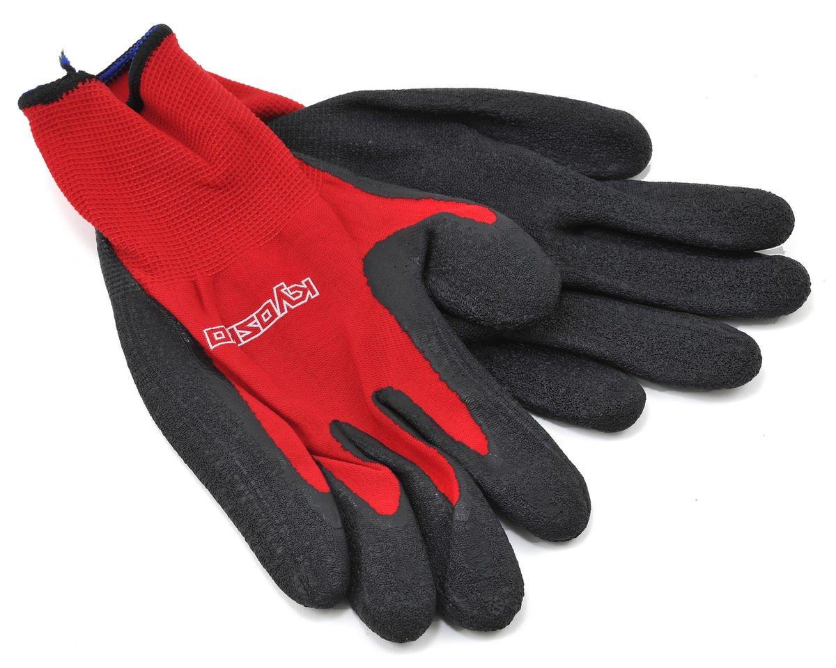 Kyosho Pit / Marshal Gloves (Red/Black) (L)