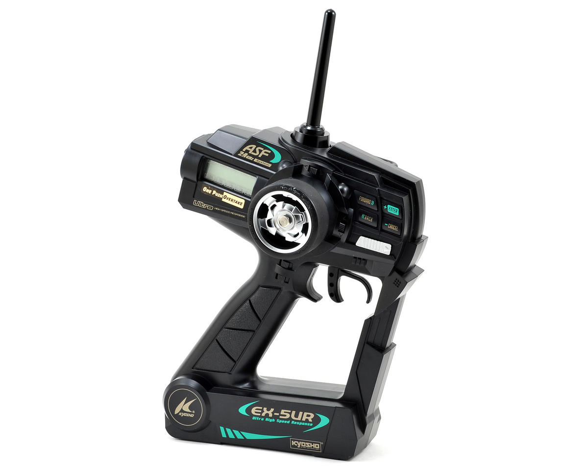 Kyosho Perfex Limited Edition EX-5UR ASF 2.4GHz 3 Channel Transmitter (Black)