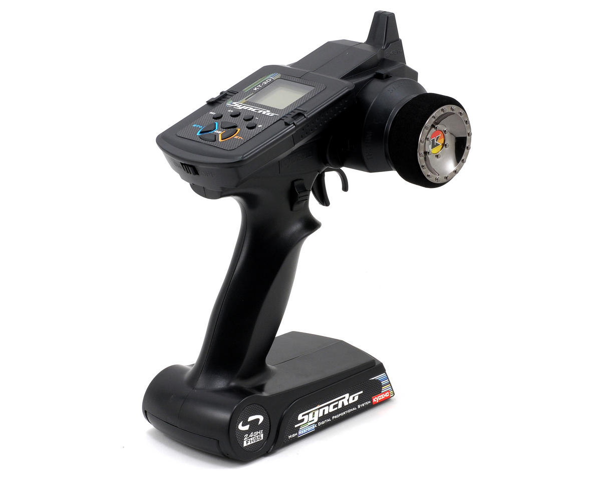 Kyosho Syncro KT-201 2.4GHz Pistol Grip Radio w/KR-200 Receiver