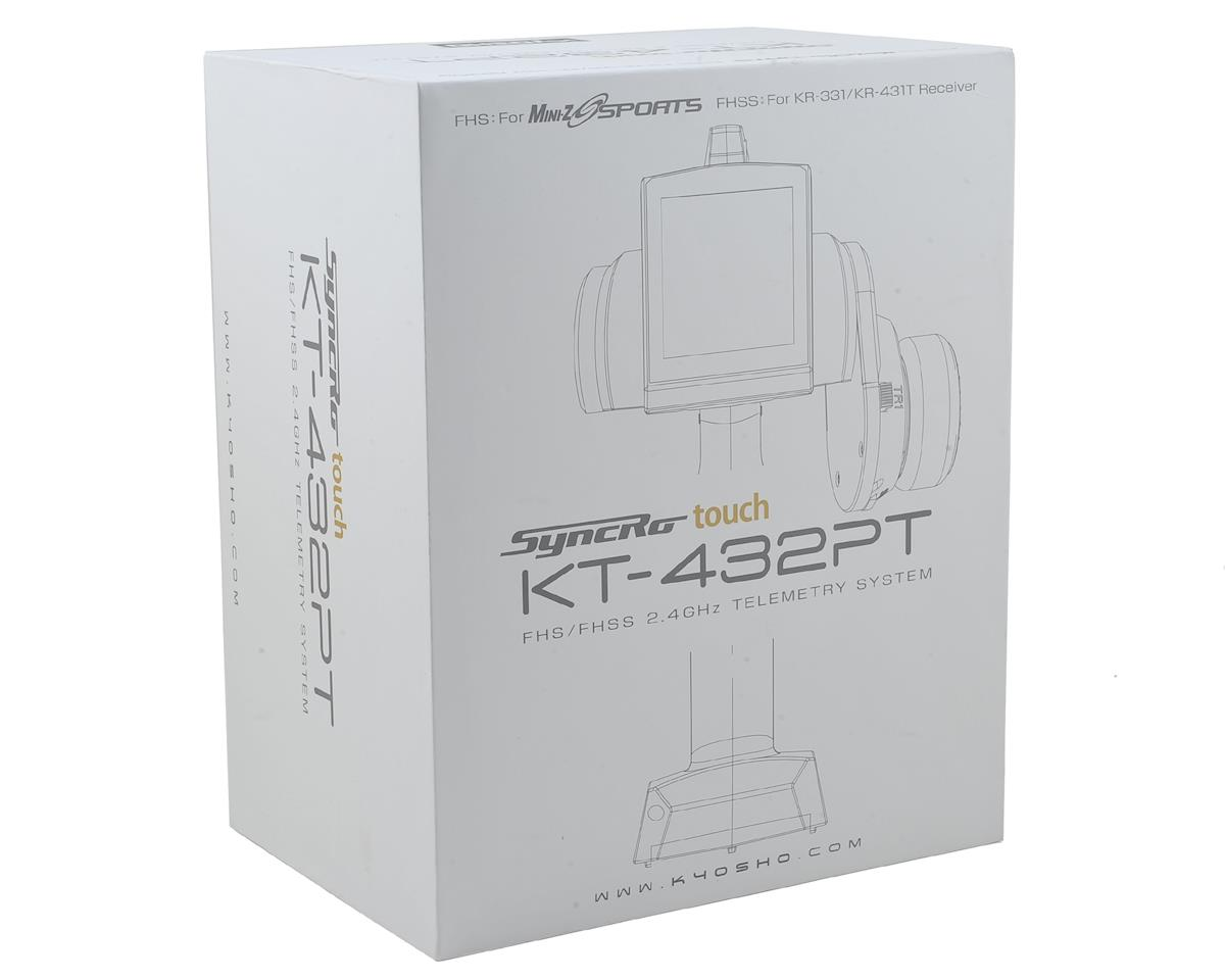 Syncro Touch KT-432PT 4-Channel 2.4GHz Radio System by Kyosho