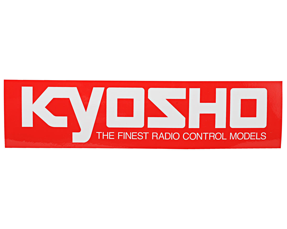 Kyosho 72x290mm Medium Size Logo Sticker