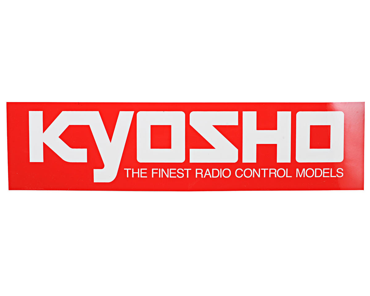 Kyosho 90x360mm Large Size Logo Sticker