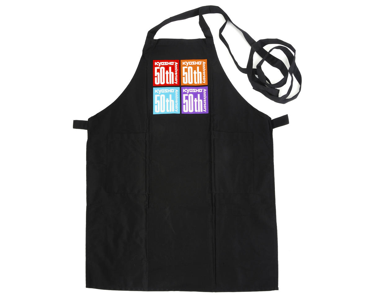 Kyosho Limited Edition 50th Anniversary Apron (Black)