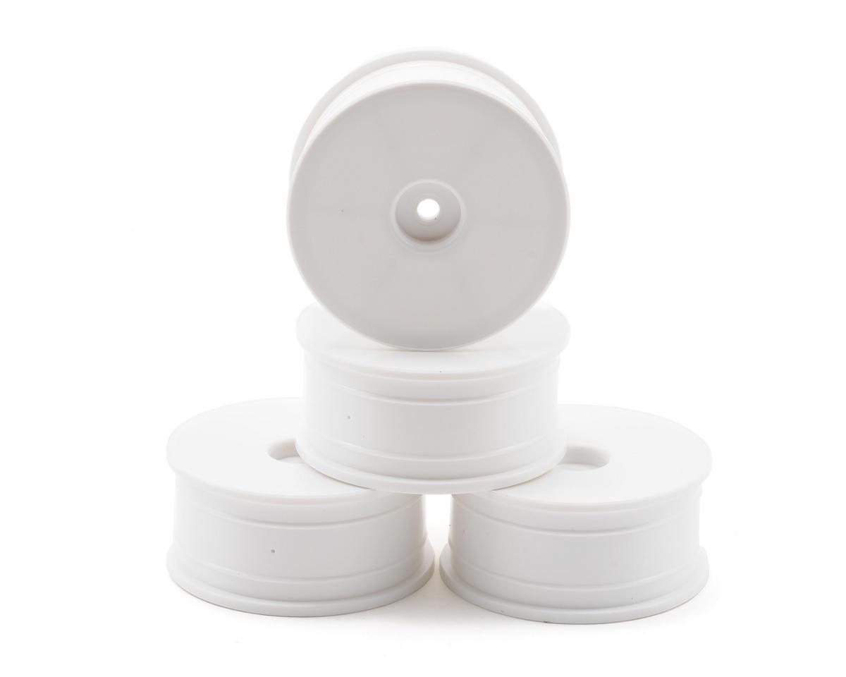 Kyosho 24mm White Dish Wheel Set (4)