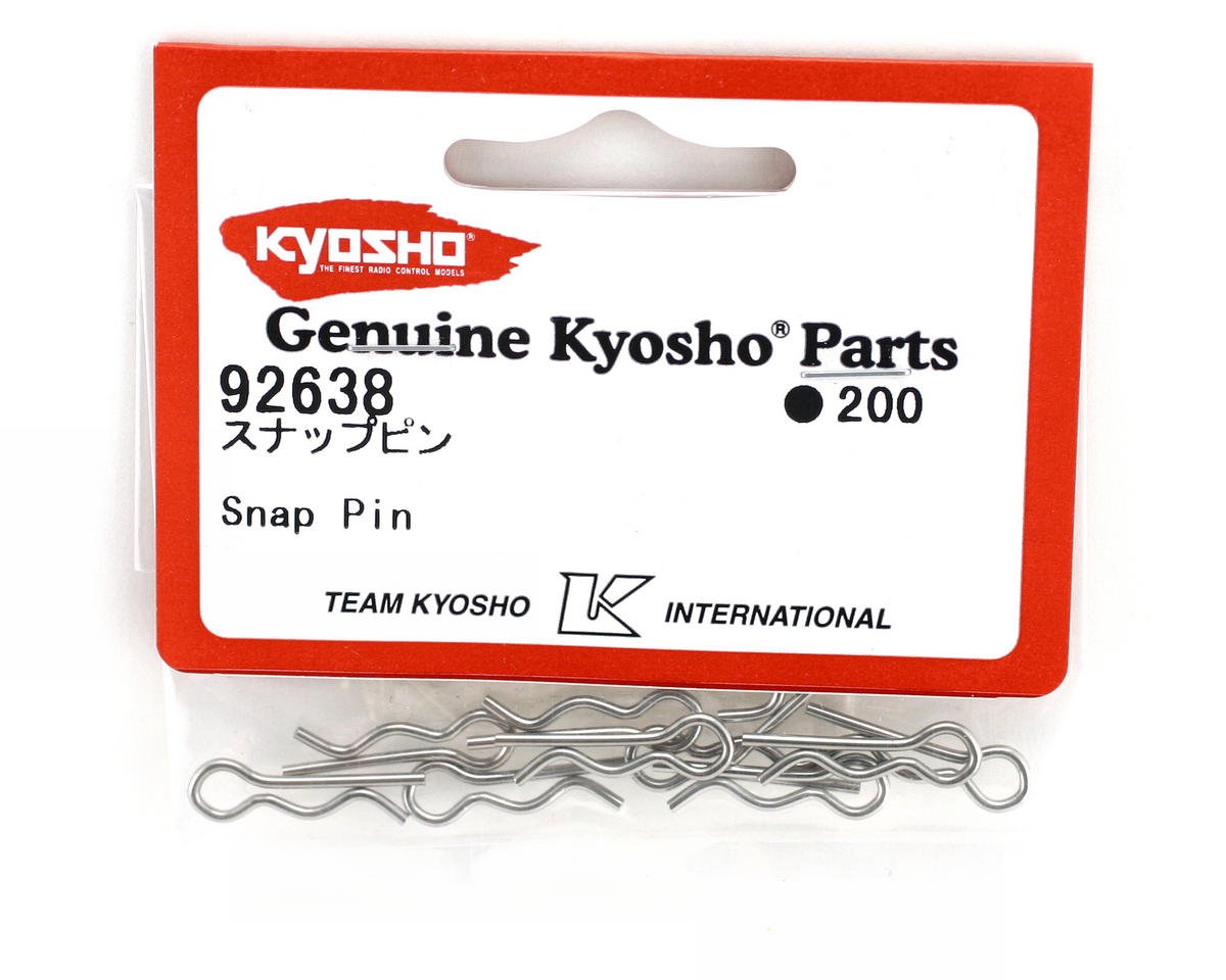 Body Clips (10) by Kyosho