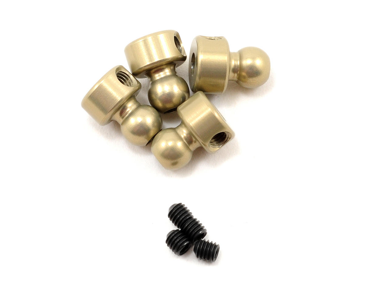 5.8mm Hard Anodized 7075 Sway Bar Ball Joints (4) by Kyosho
