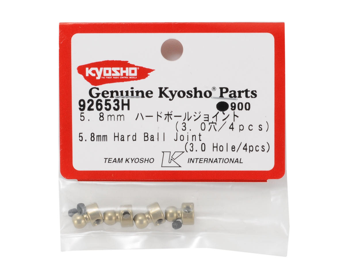 Kyosho 5.8mm Hard Anodized 7075 Sway Bar Ball Joints (4)